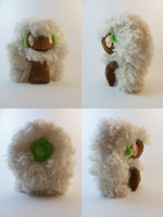 Whimsicott Plush Turnaround by TheDarkenedElf