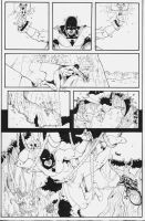Space Ghost page 2 inks by CrimeRoyale