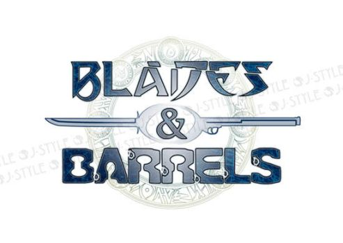The logo of Blades and Barrels by J-Sty1e
