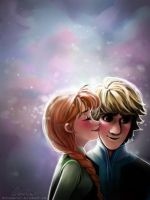 We Me?...Wait what? - Kristoff Anna [Frozen] by MitsouParker