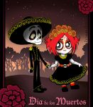 Dia de los Muertos: Ruby Gloom by ZetsubouZed