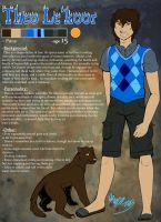 Theo Le'Koor Reference Sheet by ThisLittleBluebird