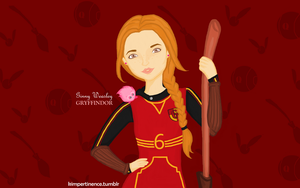 Ginny by kimpertinent