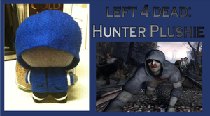 left 4 dead hunter plush by Jack-O-AllTrades