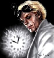 Dr Emmett Lathrop Brown by Smeha