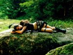 Lara Croft: like a panther by TanyaCroft