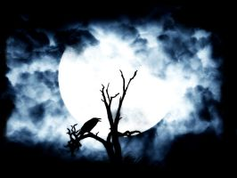 moon.Raven by Ivellivis