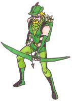 Green Arrow by Mbecks14