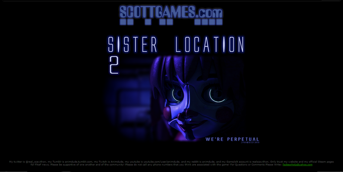 Sister Location 2 (FAKE) teaser by ImSmaher
