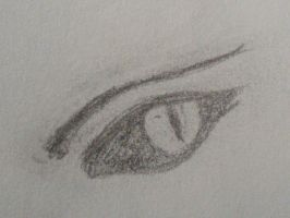 Eye sketch III by Bwabbit