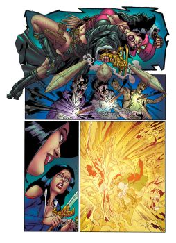 Grimm Fairy Tales Unleashed #1 page 23 colors by KoShiatar