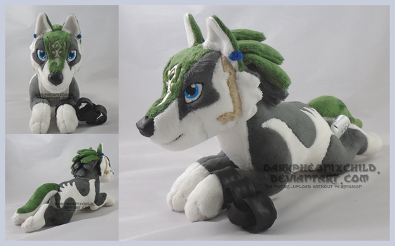 Laying Wolf Link by darkpheonixchild