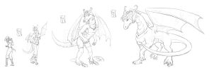 Dragon Karen Sequence .: Commission :. by Janexas