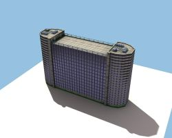 Low Poly Skyscraper MK 2 by eRe4s3r
