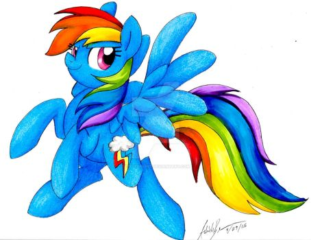 RainBow Dash by PitterPaint
