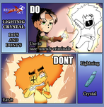 RegicideOCT: Lightnight Crystal Do's and Don'ts by Miss-Sheepy