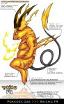 Pokedex 026 - Raichu FR by Pokemon-FR