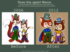 2006 meets 2012 by MeckelFoxStudio