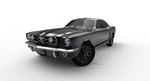 FORD MUSTANG 1965 by cgkrane