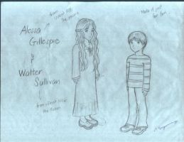 Alessa and Little Walter by Cashopeia