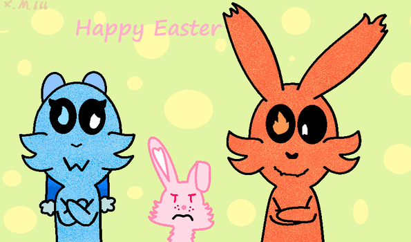Happy Easter by xmangle666