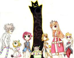 Okage Full Group by baberscamille