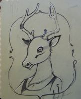 Holiday Deer by miorats