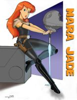 Mara Jade by Anime-Ray