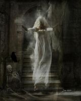 Ghost On The Stairs by jhutter