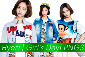 Hyeri (Girl's day) png by MilenaHo
