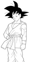 Goku GT preview by drozdoo