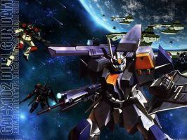 Duel Gundam - Defend The Front by gundex