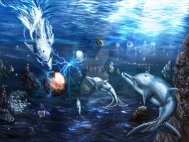 Ecco the Dolphin - Rebuilding the Asterite by LSMBird