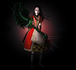 AliceRoyalDress 1 by tombraider4ever