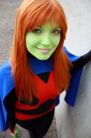 Miss Martian (Stealth Suit) by CapuletJuliet
