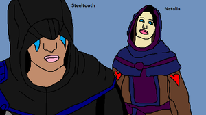 Natalia And Steeltooth First Meet by Natalia-Clark