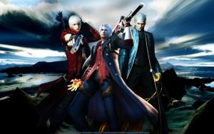 Devil May Cry... bcoz of them... by SilverCat-sama