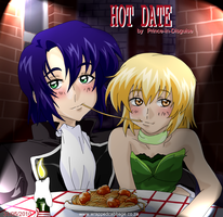 Athrun and Cagalli - Hot Date by Prince-in-Disguise