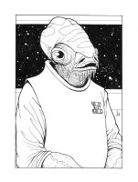 Admiral Ackbar Commission by ragelion