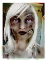 zombie chick by Anonyminty