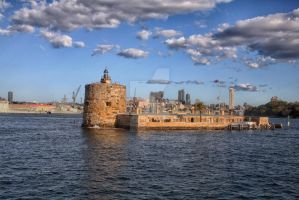 Fort Denison by terrywilliamson