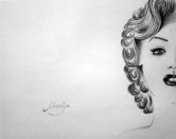 Marilyn Monroe by WeronikaB