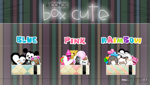 Iconos Box Cute By PiitufiitoGrr by PiitufiitoGrr
