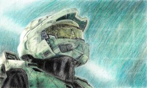 Master Chief by xLindarielx