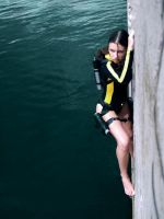 Lara Croft wetsuit - Water.. by TanyaCroft