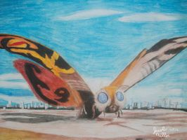 Mothra 1961 by pink12301