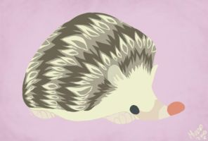 Daily Design: Hedgehog by sketchinthoughts