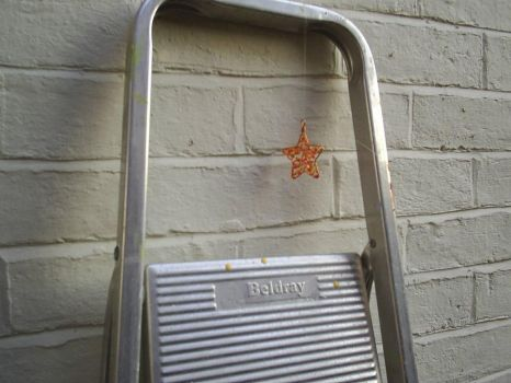 orange star from ladder by kerni