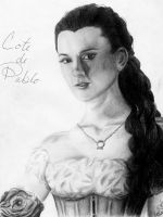 Cote de Pablo as Christine Daae by SempreAmore