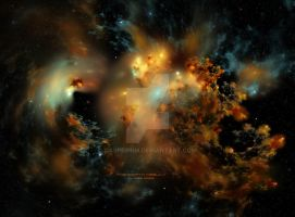 The Dorth Nebula by Casperium